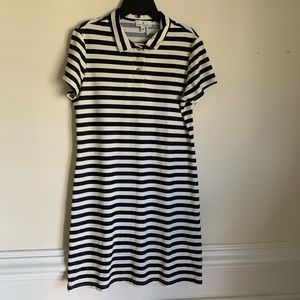Jude Connally striped collared dress